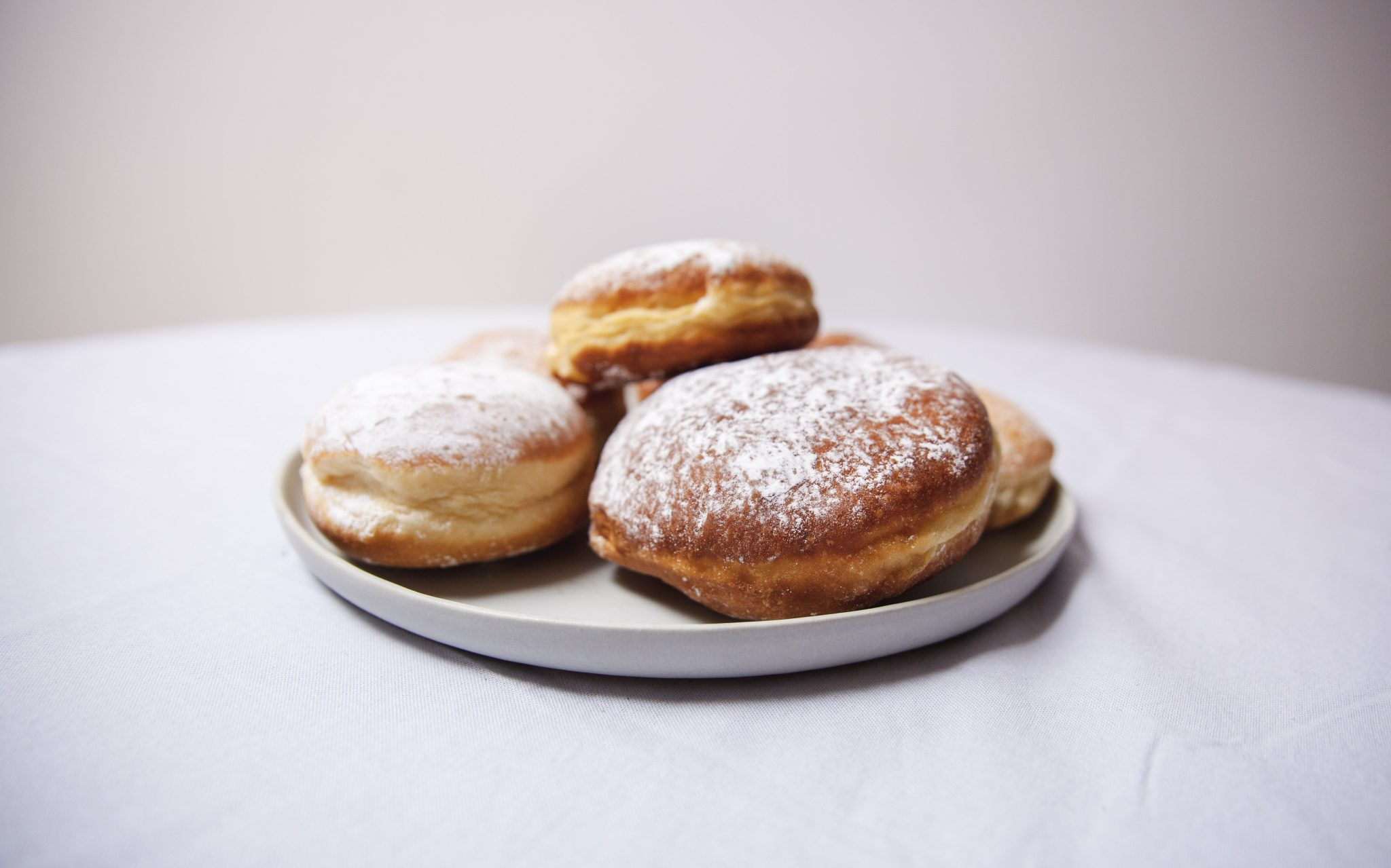 doughnuts on a plate